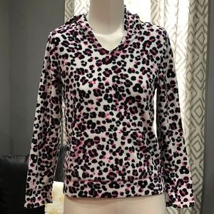The Children's Place Leopard Print Hoodie/Sweater
